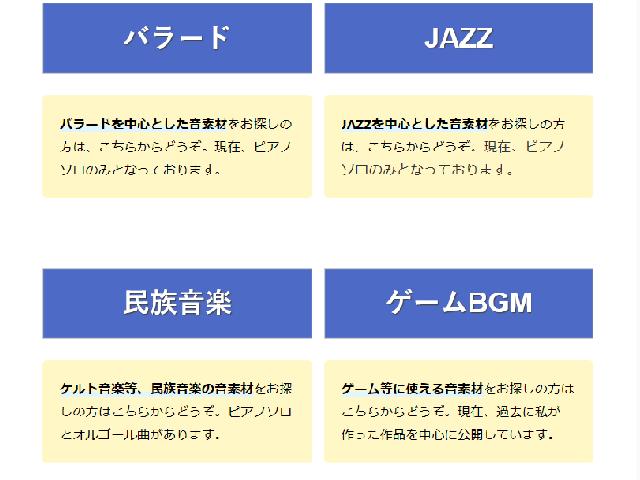 本サイトの内容